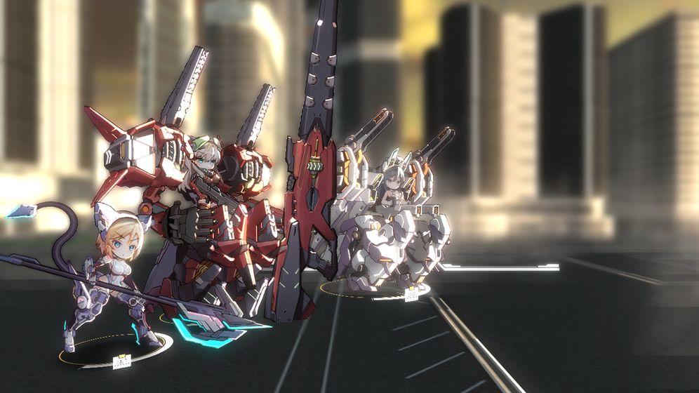 机动战姬:聚变中文版 电脑版