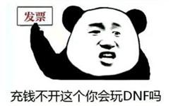 《DNF》开发票表情包大全